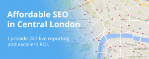 Central London SEO by pete duffy