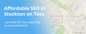 Stockton on Tees SEO by pete duffy