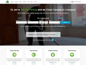Eco Carpet Cleaning Liverpool Homepage