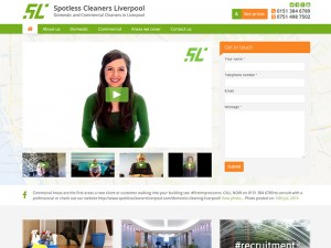 Spotless Cleaners Liverpool Home Page