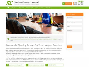Spotless Cleaners Liverpool Sub Page