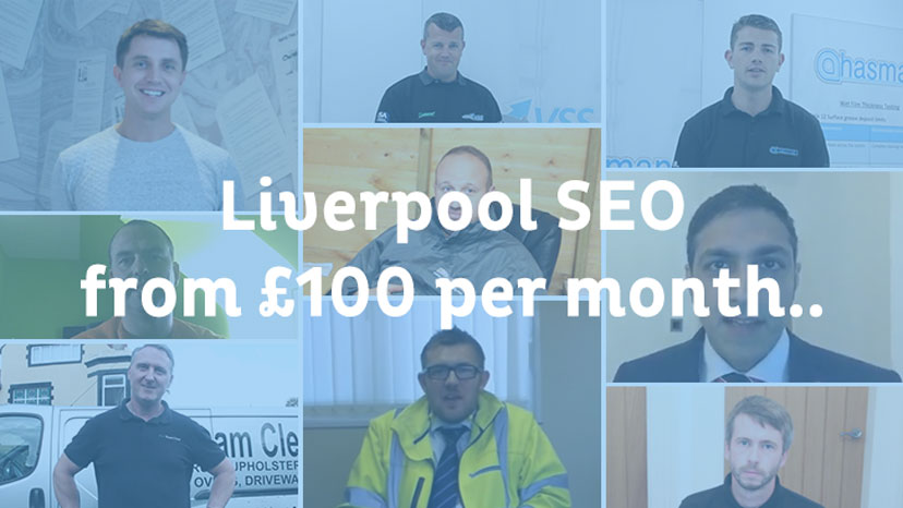 Liverpool SEO from £100 per month